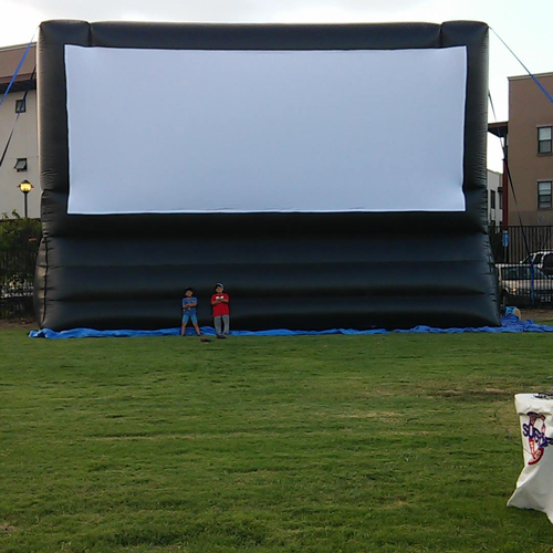 Socal Outdoor Movie Screen Sizes