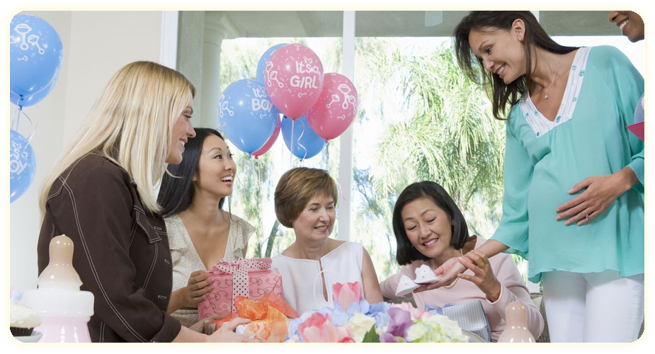 Baby shower events