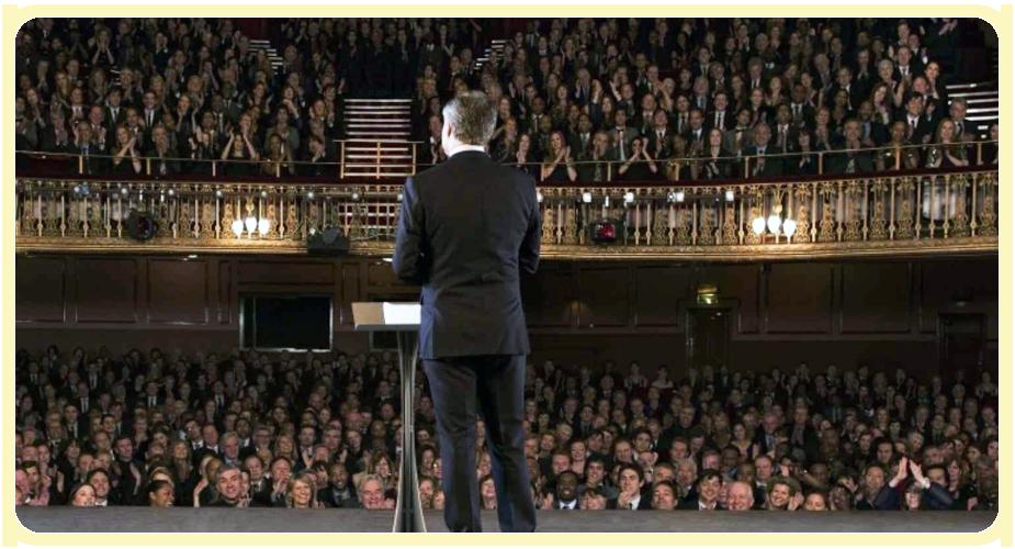 public speaking events