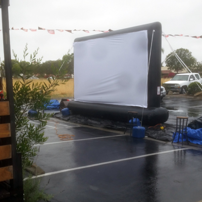 socal outdoor movie weather guarantee