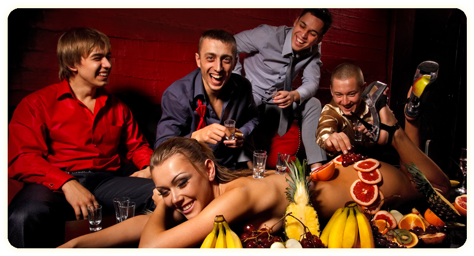 Stag and bachelor party events